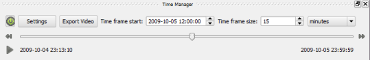 Time Manager dock