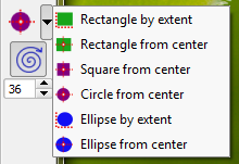 Easy Rectangles, Circles and Ellipses in QGIS | Free and