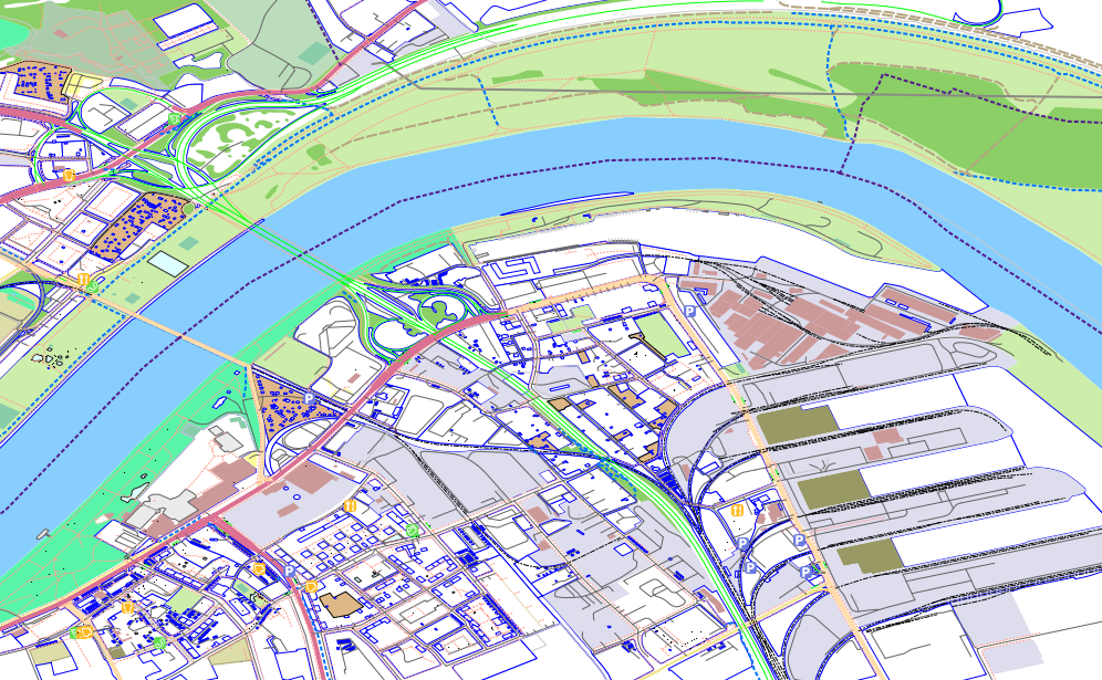 Light Styles for OSM Layers in QGIS | Free and Open Source GIS Ramblings