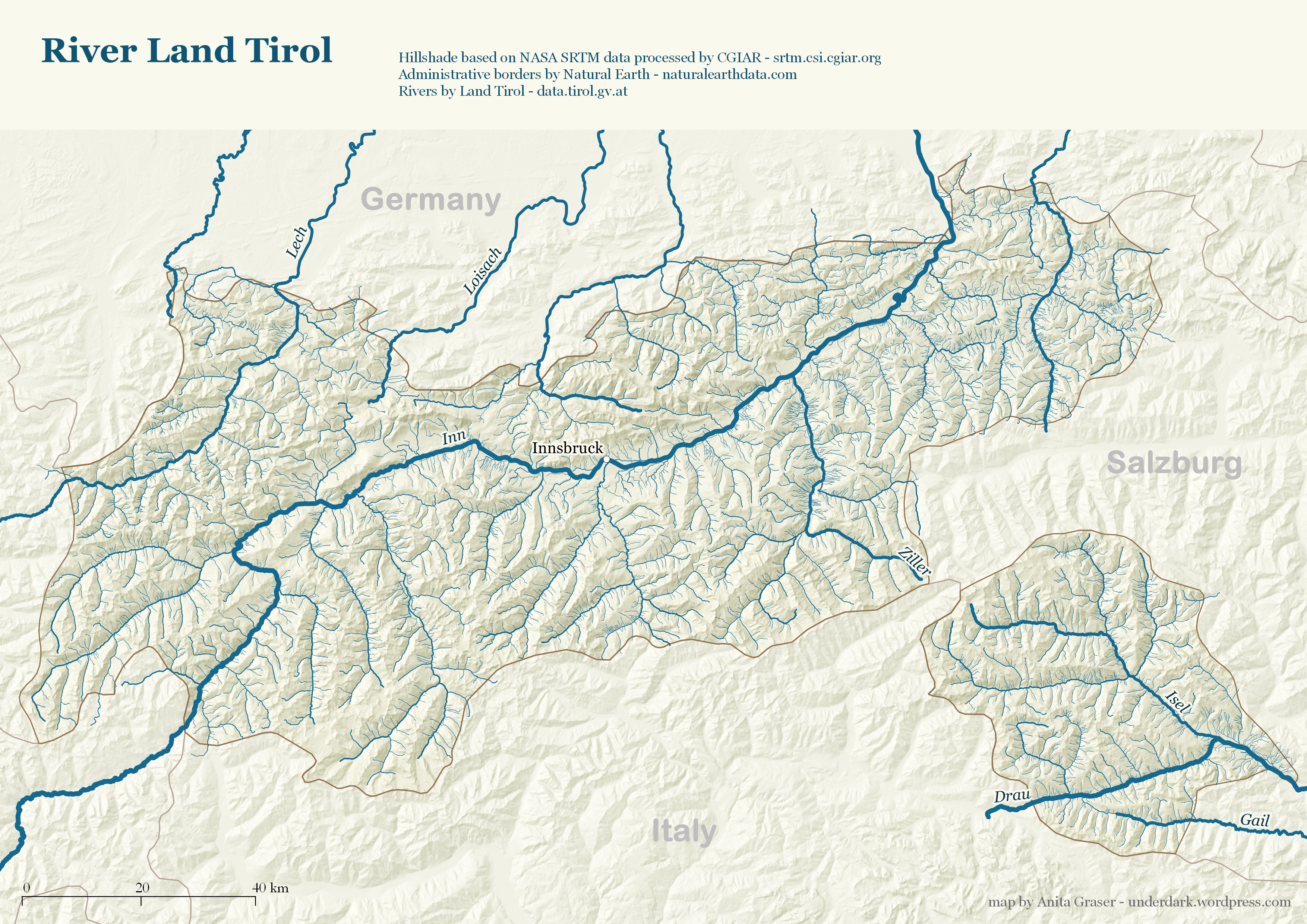 Tirol Italy Map.Mapping Open Data With Open Gis Free And Open Source Gis Ramblings