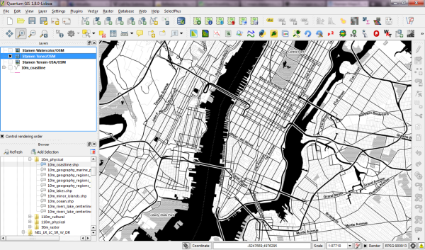 Stamen Maps for QGIS | Free and Open Source GIS Ramblings
