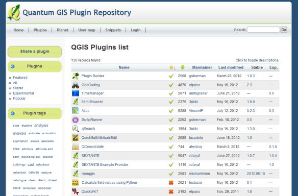 plugin development | Free and Open Source GIS Ramblings