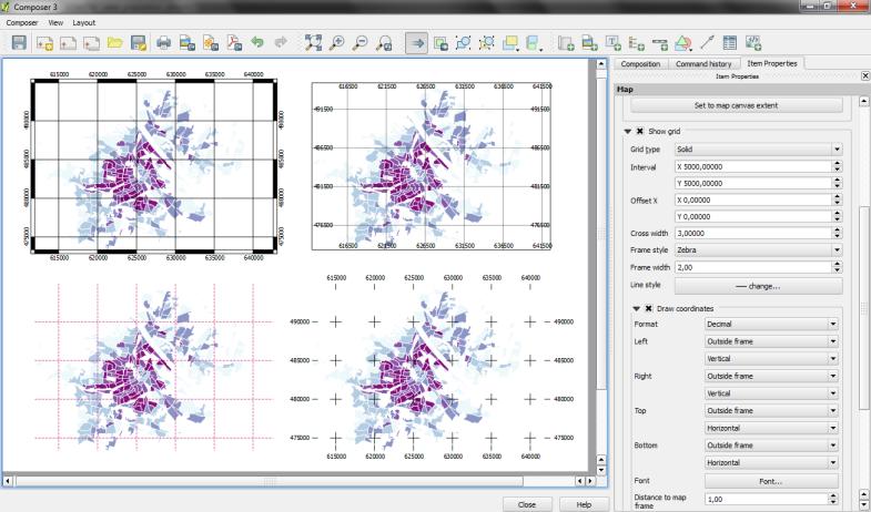 printcomposer_grids