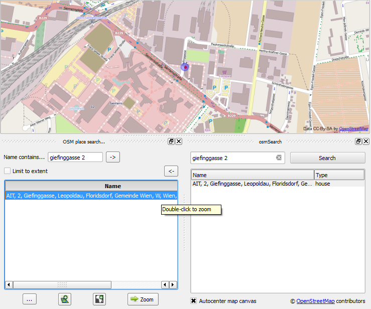 Address finders in QGIS: OSM place search vs osmSearch
