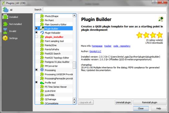 installPluginBuilder