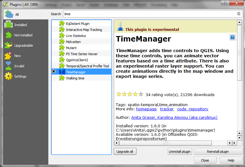 Time Manager 1 6 – now with feature interpolation | Free and Open