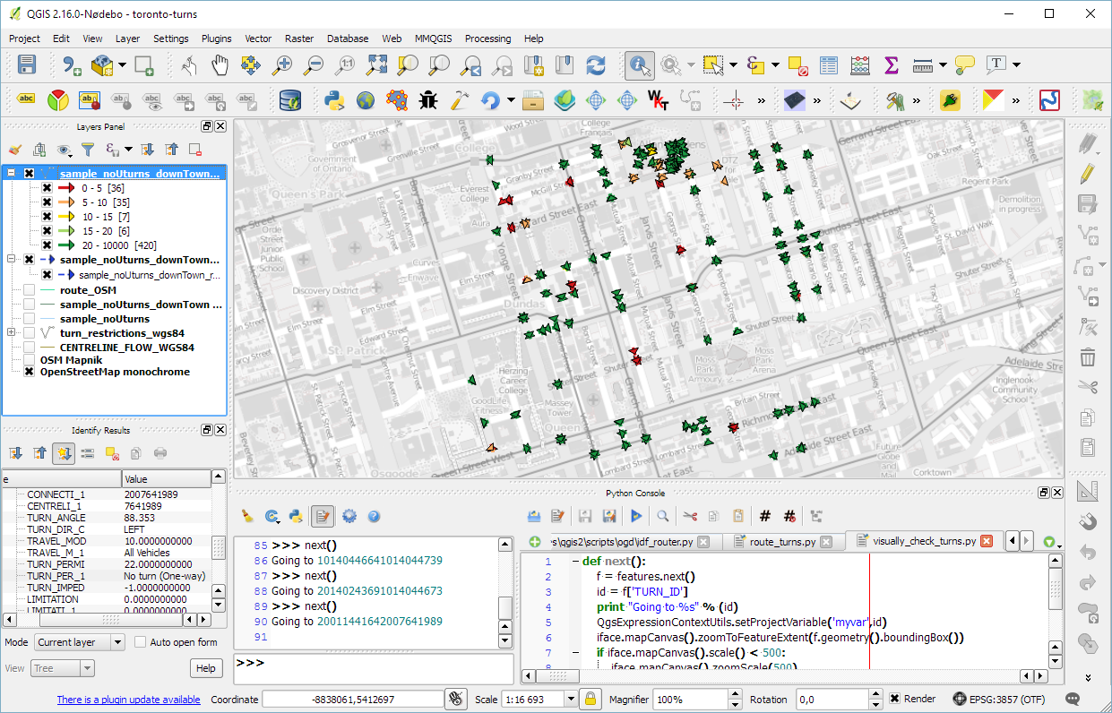 Qgis plugins planet torontoturnsoverview baditri Images
