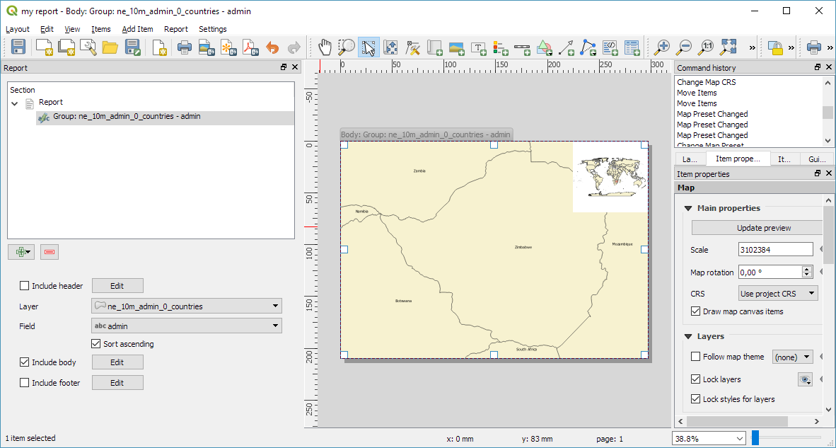 Creating reports in QGIS3 | Free and Open Source GIS Ramblings