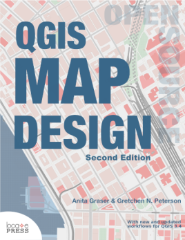 "Cover of ""QGIS Map Design 2nd Edition"""