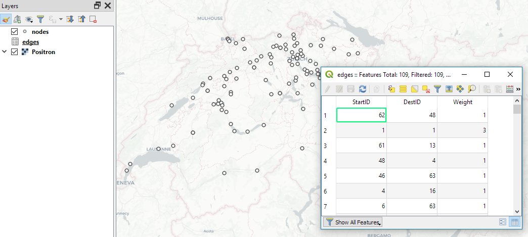 Flow maps in QGIS – no plugins needed! | Free and Open Source GIS